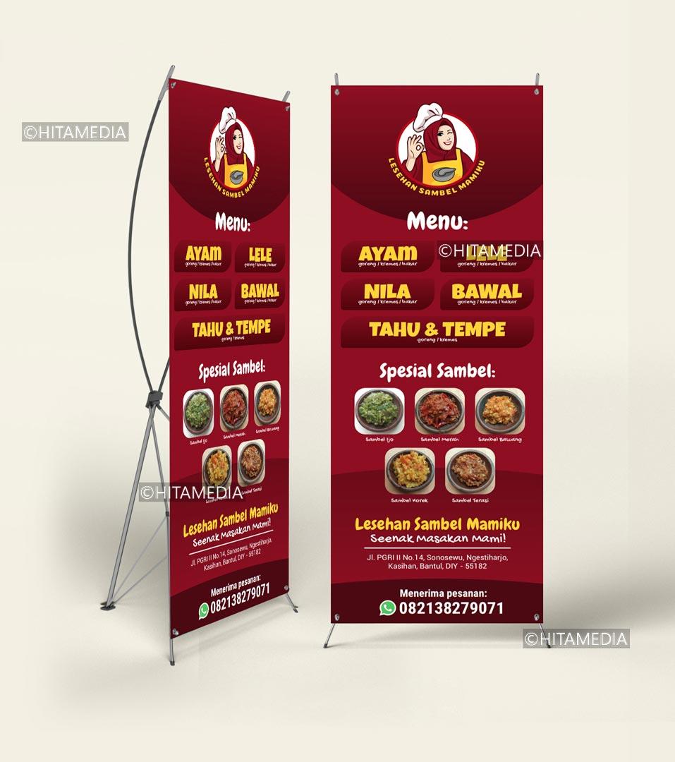 portofolio Biaya Cetak X Banner