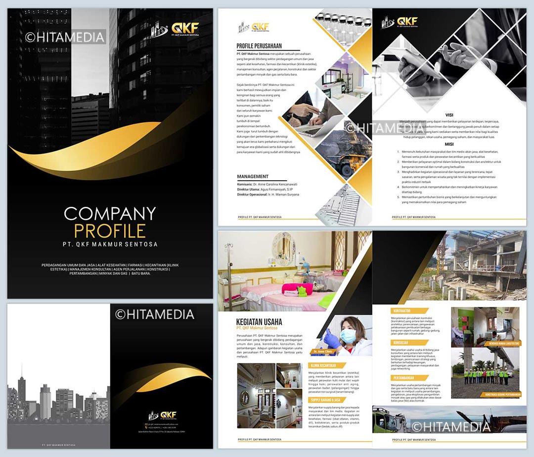 portofolio Jasa Pembuatan Company Profile Cetak