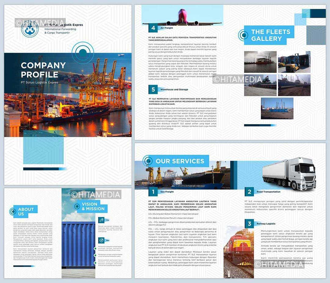 portofolio Company Profile Perusahaan Jasa Travel