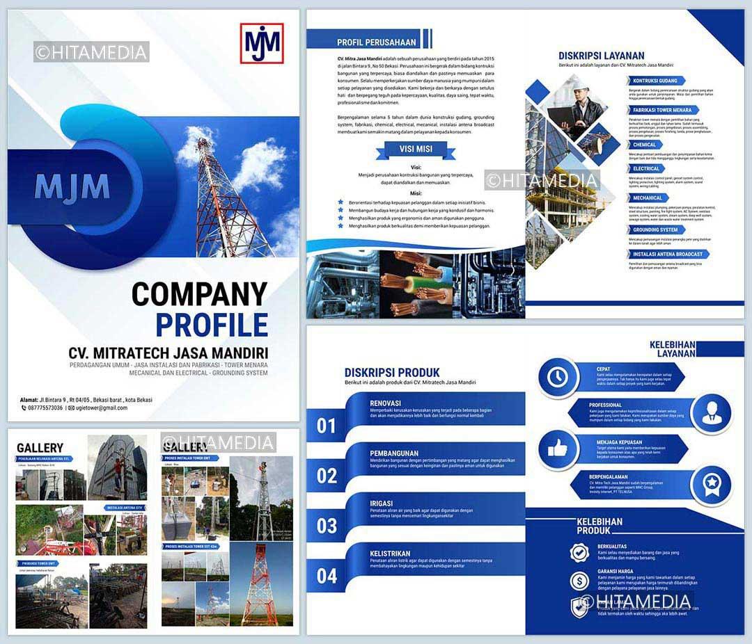 portofolio Company Profile Perusahaan Jasa Service Ac