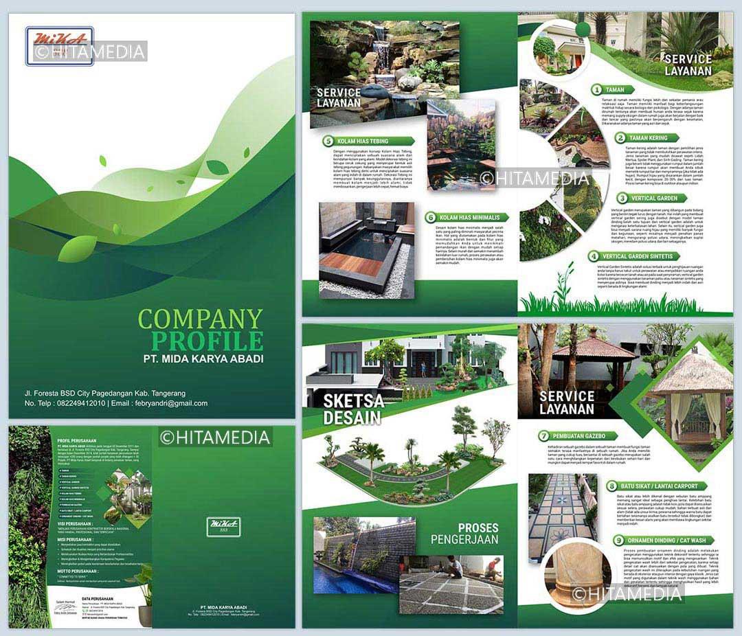 portofolio Harga Jasa Pembuatan Company Profile