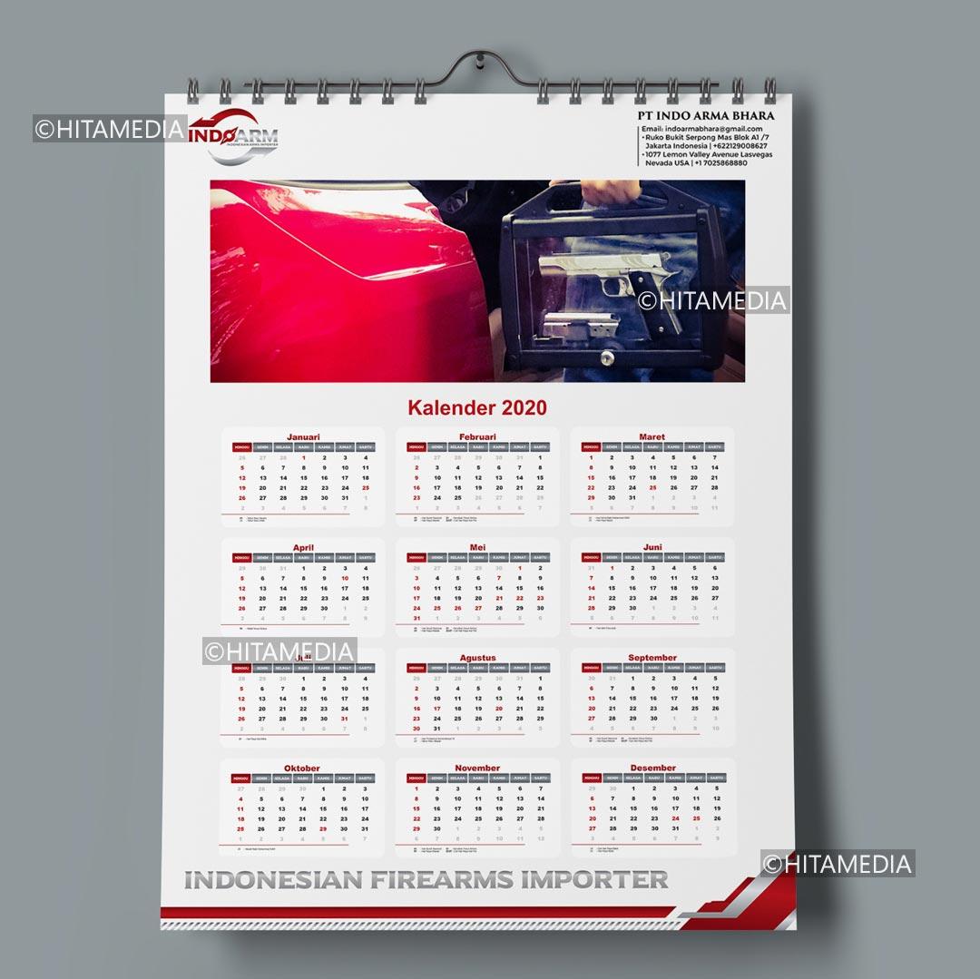 portofolio Harga Desain Kalender Dinding