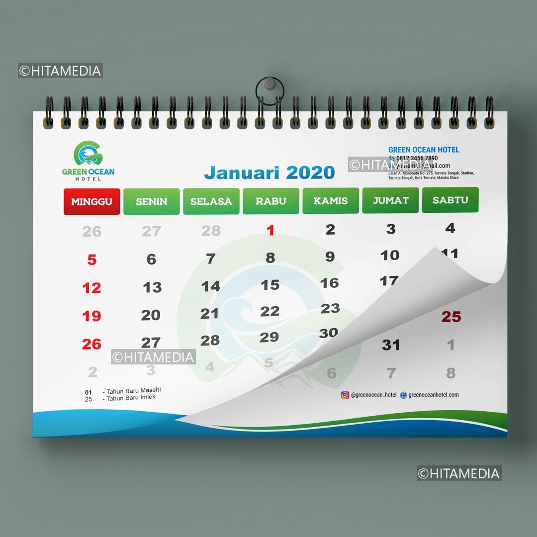 portofolio Cetak Kalender 2021 Murah Jakarta