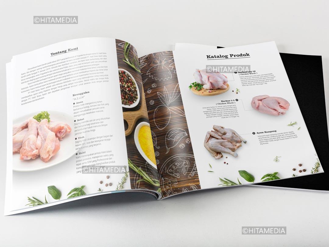 portofolio Jasa Desain Buku Menu