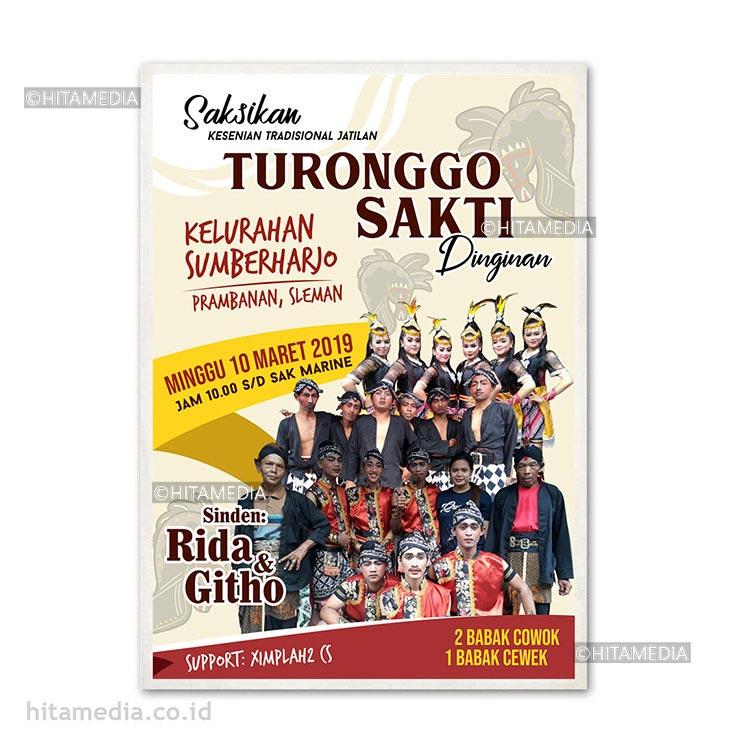 portofolio Cetak Poster Jakarta